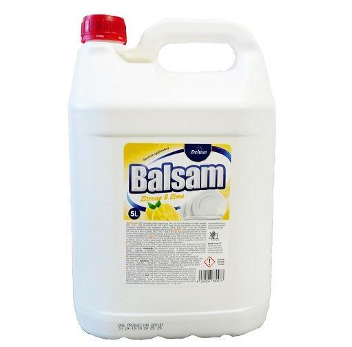 Deluxe Balsam Средство для мытья посуды Zitrone & Lime plyn do naczyn (ЛИМОН И ЛАЙМ) 5л
