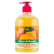 Биотон Жидкое крем-мыло Дыня и манго с увлажняющим молочком 500мл