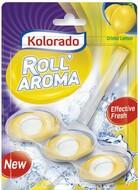 KOLORADO брусок туалетной Roll Aroma, CRISTAL LEMON 3шт