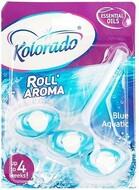 KOLORADO брусок туалетной Roll Aroma, BLUE AQUATIC 3шт
