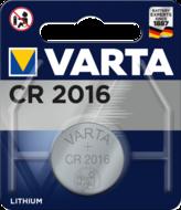Батарейка VARTA CR 2016 BLI 1 LITHIUM * (639)