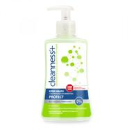 Cleanness + Мыло-крем с бактерицидным эффектом Protect 310г