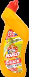 Моющее средство для очистки керамические. поверхностей ЮКА-блеск Лимонная свежесть 810мл